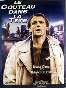 Messer im Kopf - French Movie Poster (xs thumbnail)