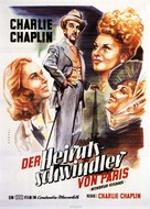 Monsieur Verdoux - German Movie Poster (xs thumbnail)