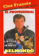 Le professionnel - Spanish Movie Cover (xs thumbnail)