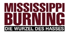 Mississippi Burning - German Logo (xs thumbnail)