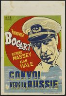Action in the North Atlantic - Belgian Theatrical movie poster (xs thumbnail)