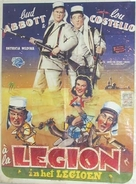 Abbott and Costello in the Foreign Legion - Belgian Movie Poster (xs thumbnail)