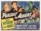 Pursuit to Algiers - Movie Poster (xs thumbnail)