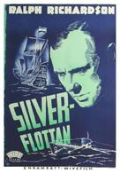 The Silver Fleet - Swedish Movie Poster (xs thumbnail)