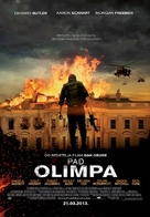 Olympus Has Fallen - Croatian Movie Poster (xs thumbnail)