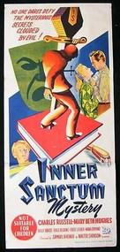 Inner Sanctum - Australian Movie Poster (xs thumbnail)