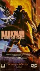 Darkman - Argentinian VHS movie cover (xs thumbnail)