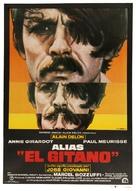Le gitan - Spanish Movie Poster (xs thumbnail)