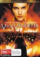 V for Vendetta - Australian Movie Cover (xs thumbnail)