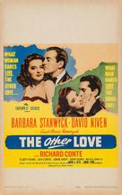 The Other Love - Movie Poster (xs thumbnail)