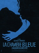 La chambre bleue - French Movie Poster (xs thumbnail)