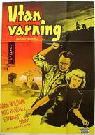 Without Warning! - Swedish Movie Poster (xs thumbnail)