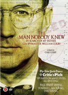 The Man Nobody Knew: In Search of My Father, CIA Spymaster William Colby - DVD cover (xs thumbnail)
