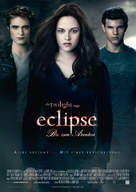 The Twilight Saga: Eclipse - German Movie Poster (xs thumbnail)
