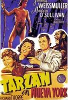 Tarzan's New York Adventure - Spanish Movie Poster (xs thumbnail)