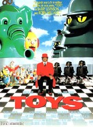 Toys - French Movie Poster (xs thumbnail)