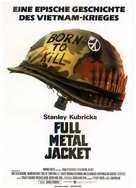 Full Metal Jacket - German Movie Poster (xs thumbnail)