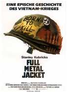 Full Metal Jacket - German Movie Poster (xs thumbnail)