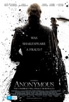 Anonymous - Australian Movie Poster (xs thumbnail)