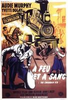 The Cimarron Kid - French Movie Poster (xs thumbnail)