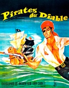 The Devil-Ship Pirates - French Movie Poster (xs thumbnail)
