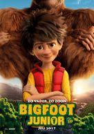 The Son of Bigfoot - Dutch Movie Poster (xs thumbnail)