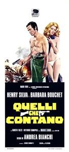 Quelli che contano - Italian Movie Poster (xs thumbnail)