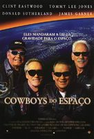 Space Cowboys - Brazilian Movie Poster (xs thumbnail)