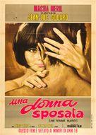 Une femme mariée: Suite de fragments d'un film tourné en 1964 - Italian Movie Poster (xs thumbnail)