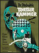 Torture Garden - Danish Movie Poster (xs thumbnail)