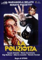 La poliziotta - Italian DVD movie cover (xs thumbnail)