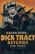 Dick Tracy Returns - Movie Poster (xs thumbnail)
