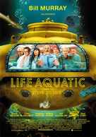 The Life Aquatic with Steve Zissou - Spanish Movie Poster (xs thumbnail)
