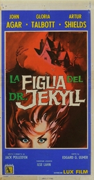 Daughter of Dr. Jekyll - Italian Movie Poster (xs thumbnail)