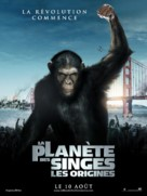 Rise of the Planet of the Apes - French Movie Poster (xs thumbnail)