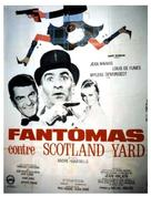Fantômas contre Scotland Yard - French Movie Poster (xs thumbnail)