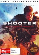 Shooter - Australian DVD cover (xs thumbnail)