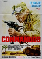Commandos - Italian Movie Poster (xs thumbnail)