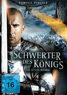 In the Name of the King 3: The Last Mission - German DVD cover (xs thumbnail)