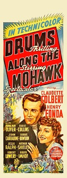 Drums Along the Mohawk - Australian Movie Poster (xs thumbnail)