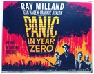 Panic in Year Zero! - British Movie Poster (xs thumbnail)