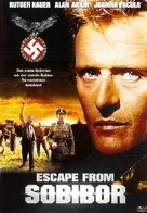 Escape From Sobibor - Norwegian Movie Cover (xs thumbnail)