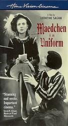 Mädchen in Uniform - VHS cover (xs thumbnail)