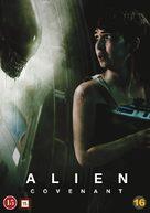 Alien: Covenant - Danish Movie Cover (xs thumbnail)