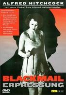 Blackmail - German DVD movie cover (xs thumbnail)
