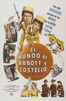 The World of Abbott and Costello - Argentinian Movie Poster (xs thumbnail)