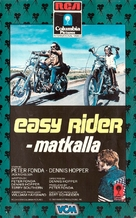 Easy Rider - Finnish VHS movie cover (xs thumbnail)