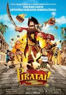 The Pirates! Band of Misfits - Lithuanian Movie Poster (xs thumbnail)