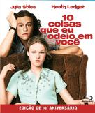 10 Things I Hate About You - Brazilian Blu-Ray movie cover (xs thumbnail)
