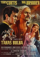 Taras Bulba - German Movie Poster (xs thumbnail)
